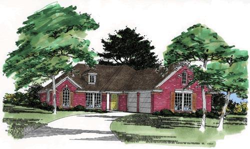 House Plan 67639