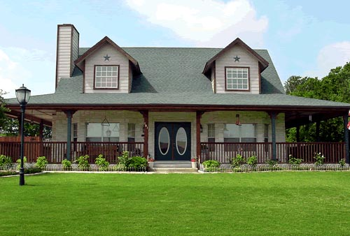 Country House Plan 67668 with 3 Beds, 3 Baths Elevation