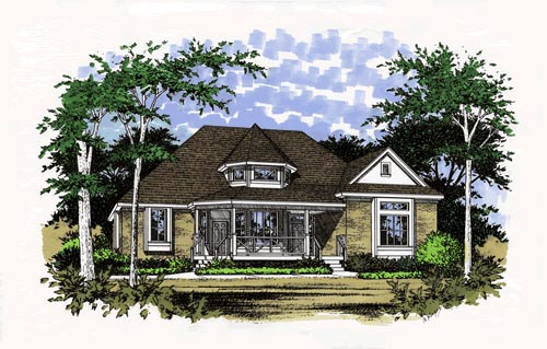Victorian House Plan 67680 Elevation