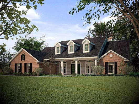 Traditional House Plan 67693 Elevation