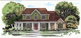 Traditional House Plan 67699 Elevation