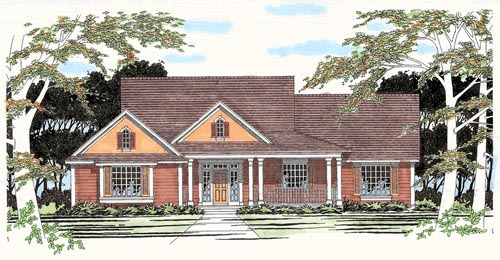 Traditional House Plan 67701 Elevation