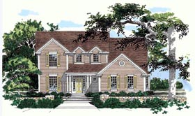 Traditional House Plan 67708 Elevation