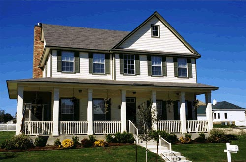 Traditional House Plan 67714 with 3 Beds, 3 Baths, 2 Car Garage Elevation