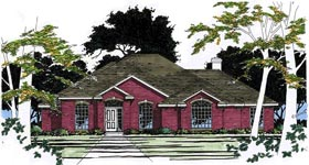 Traditional House Plan 67716 Elevation