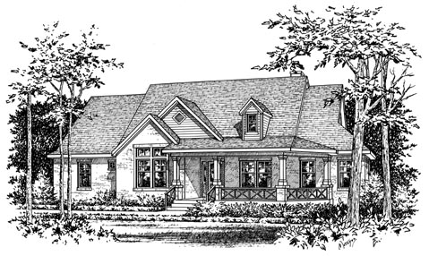 Traditional House Plan 67721 Elevation