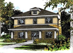 Bungalow House Plan 67731 Elevation
