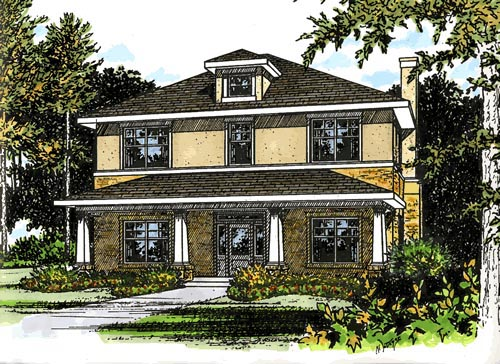 House Plan 67731