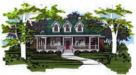 House Plan 67739 | Cape Cod Style Plan with 2595 Sq Ft, 3 Bedrooms, 3 Bathrooms, 2 Car Garage Elevation