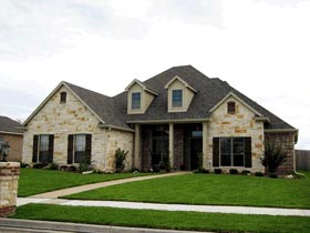 Traditional House Plan 67740 Elevation
