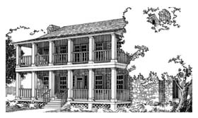 Southern House Plan 67751 Elevation