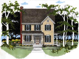 Traditional House Plan 67752 Elevation