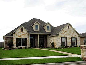 Traditional House Plan 67755 Elevation
