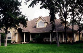 Traditional House Plan 67762 with 4 Beds, 3 Baths, 2 Car Garage Elevation
