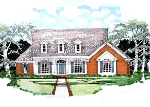 Traditional House Plan 67779 Elevation