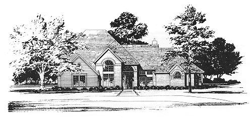 Traditional House Plan 67793 Elevation