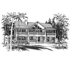 Contemporary House Plan 67795 Elevation