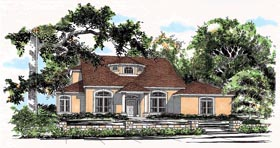 Traditional House Plan 67799 Elevation