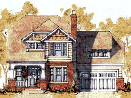 Craftsman House Plan 67802 Elevation