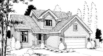 Traditional House Plan 67803 Elevation