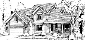 Traditional House Plan 67805 Elevation