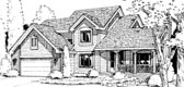 Plan Number 67805 - 1777 Square Feet