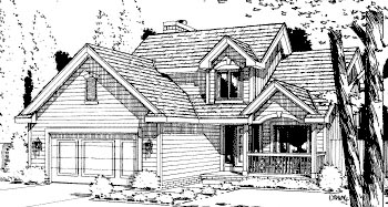 Traditional House Plan 67806 Elevation