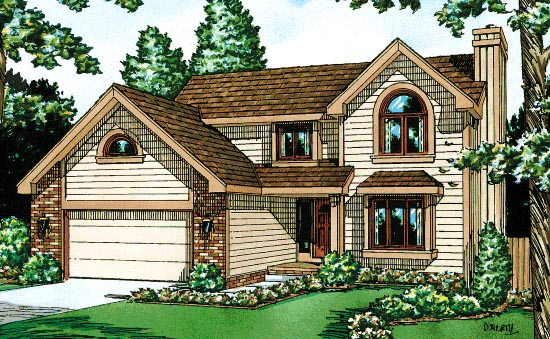 Traditional House Plan 67808 Elevation