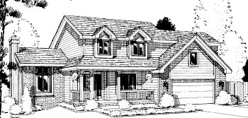 Traditional House Plan 67811 Elevation