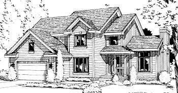 Contemporary House Plan 67812 Elevation