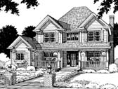 Plan Number 67813 - 2222 Square Feet