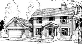 House Plan 67814
