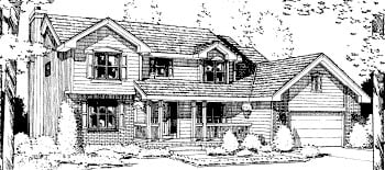 Country House Plan 67817 Elevation