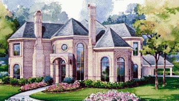 Victorian House Plan 67825 Elevation