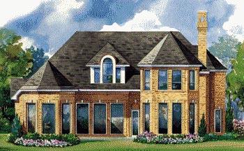 Victorian House Plan 67826 Rear Elevation