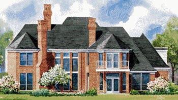Victorian House Plan 67828 Rear Elevation