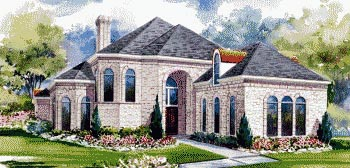 House Plan 67836 | Victorian Style Plan with 4534 Sq Ft, 3 Bedrooms, 3 Bathrooms, 3 Car Garage Elevation