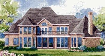 Victorian House Plan 67843 Rear Elevation