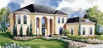 Mediterranean House Plan 67852 Elevation