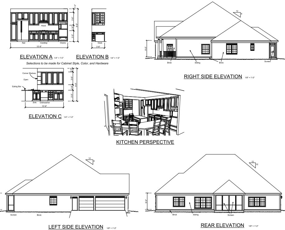 Colonial, Traditional House Plan 67881 with 4 Beds, 3 Baths, 2 Car Garage Picture 1