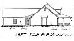Country, Southern House Plan 67882 with 3 Beds, 3 Baths, 2 Car Garage Picture 1