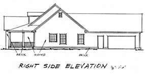 Country, Southern House Plan 67882 with 3 Beds, 3 Baths, 2 Car Garage Picture 2
