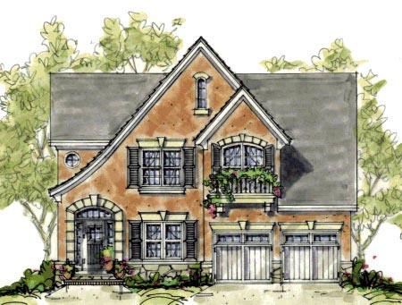 Tudor House Plan 67901 Elevation