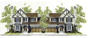 House Plan 67904 | Tudor Style Plan with 3430 Sq Ft, 3 Bedrooms, 3 Bathrooms, 2 Car Garage Elevation