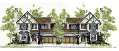 Tudor House Plan 67904 Elevation