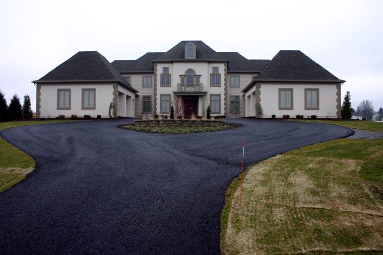 European, House Plan 67922 with 4 Beds, 4 Baths, 4 Car Garage