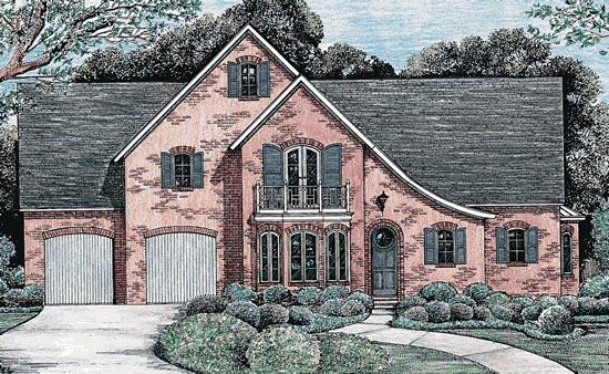 Tudor House Plan 67923 Elevation