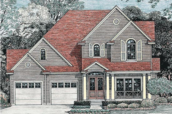 Traditional House Plan 67926 Elevation