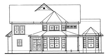 Country House Plan 67941 Rear Elevation