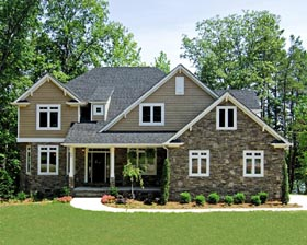 Traditional House Plan 67942 Elevation